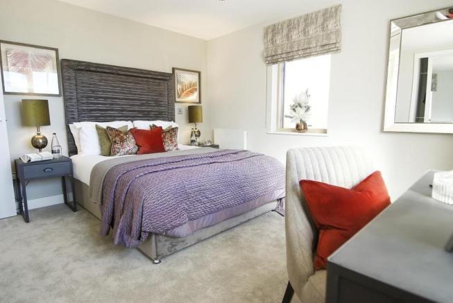 Stoke Rd Bedroom